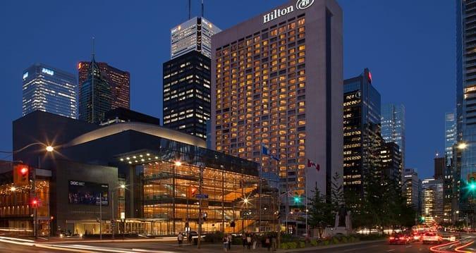 هتل هیلتون در داون تاون تورنتو کانادا