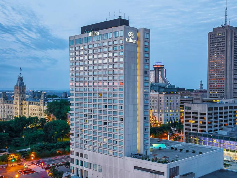 هتل هیلتون کبک کانادا