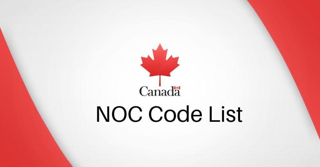 کد ناک (NOC) در مورد مشاغل کانادا چیست؟