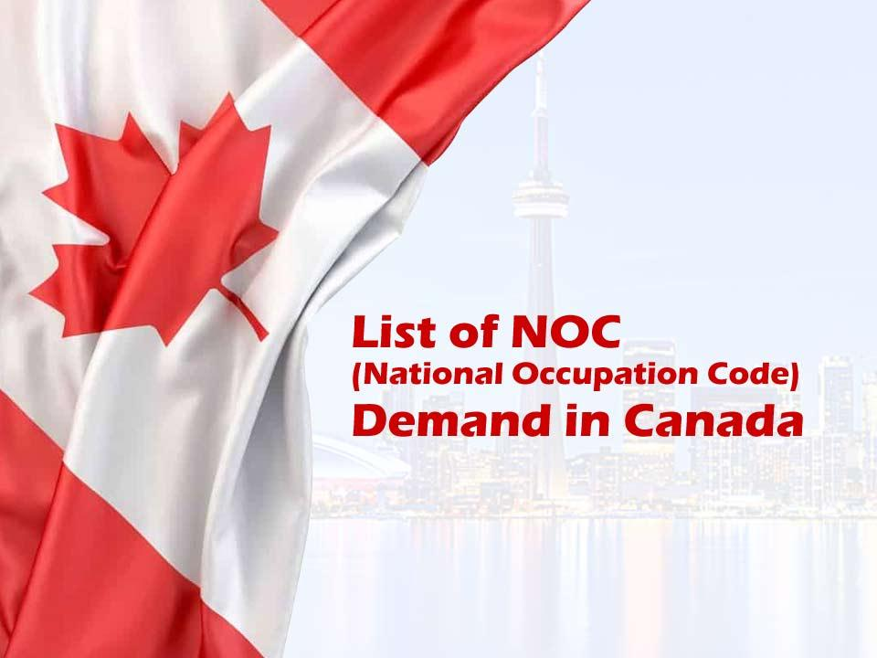 سطوح مهارتی NOC در سیستم طبقه بندی مشاغل کانادا