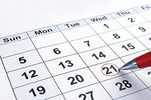 تعطیلات ملی کانادا در تقویم