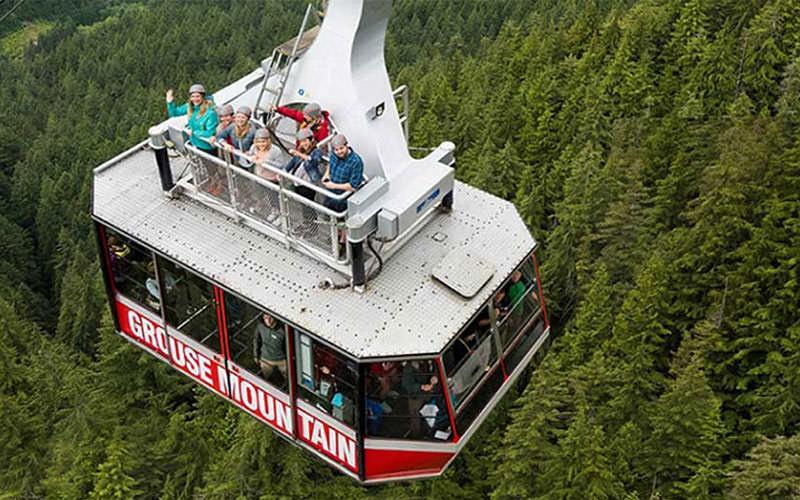خوشگذاری در ارتفاعات ونکوور کانادا