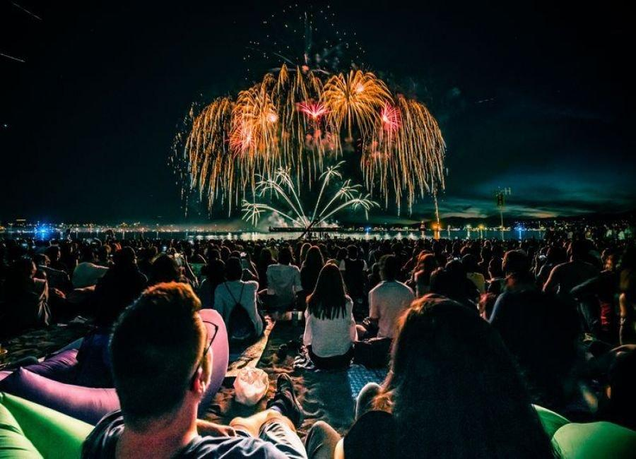 جشنواره نورها در ونکوور کانادا