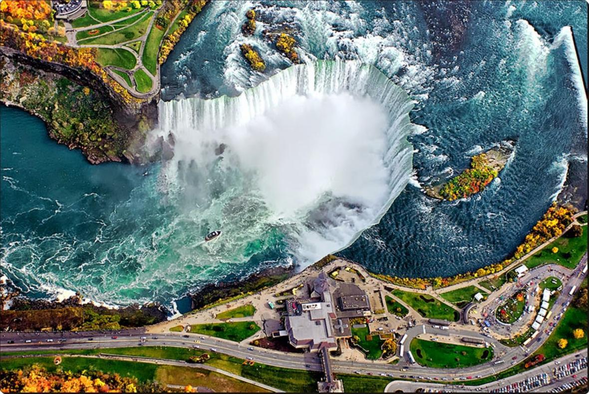 آشنایی با آبشار نیاگارا کانادا