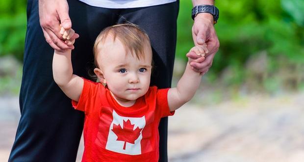 مهاجرت به کانادا از طریق تولد فرزند