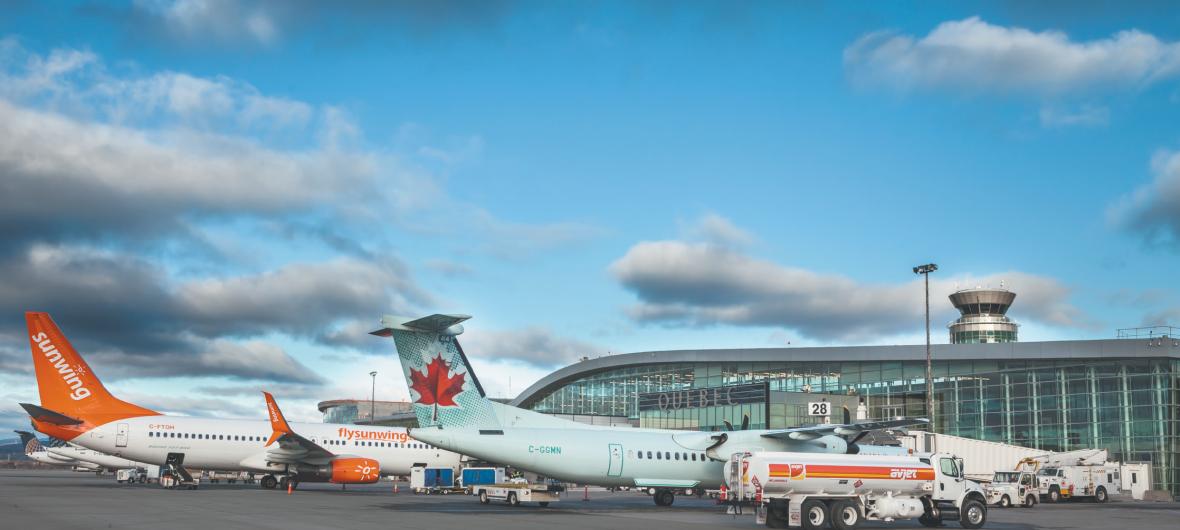 امکانات فرودگاه بین المللی کبک