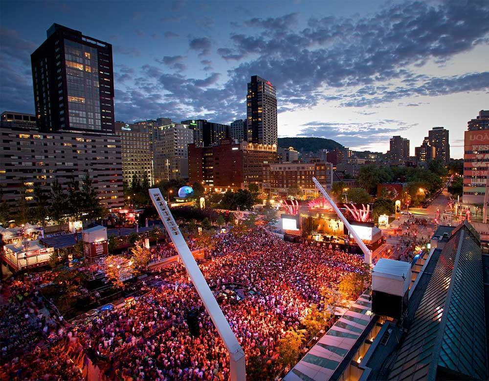 جشنواره ها و فستیوال های تور کانادا در مونترال