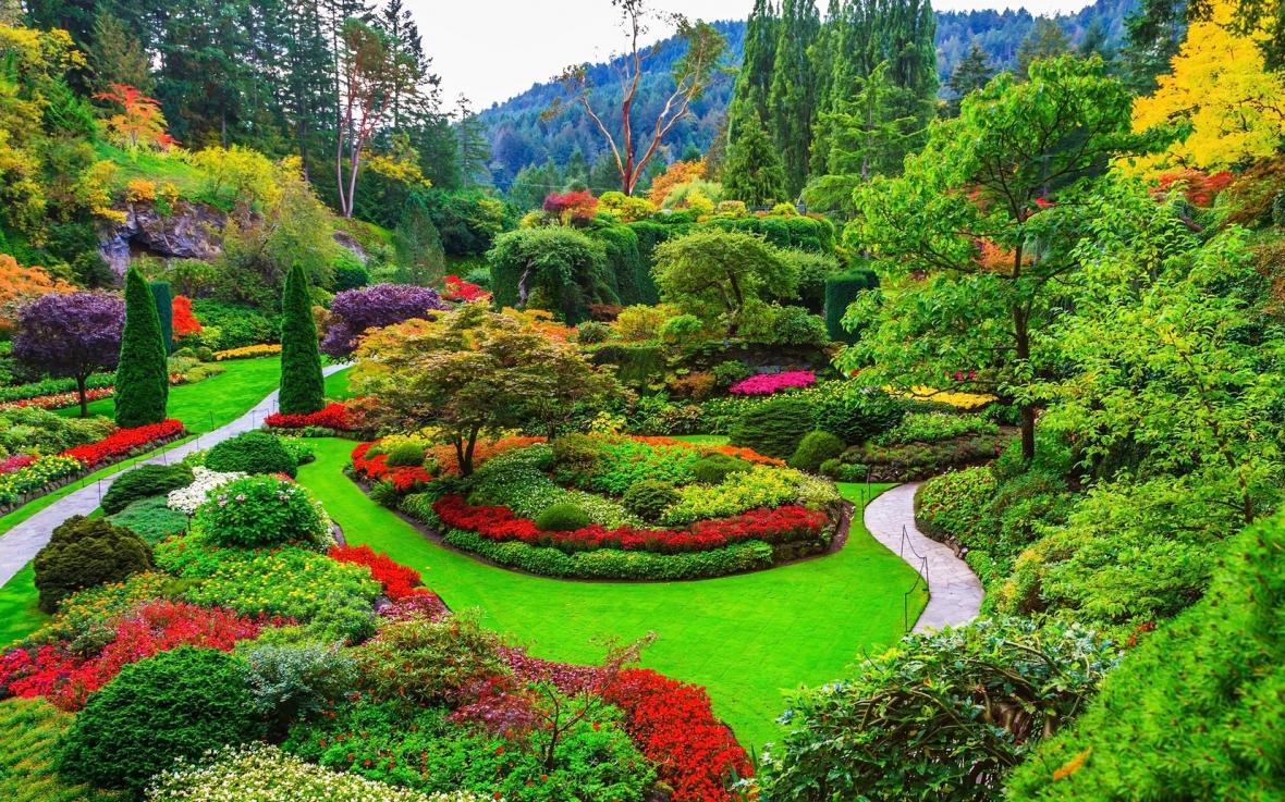 باغ های بوچارت در ونکوور کانادا