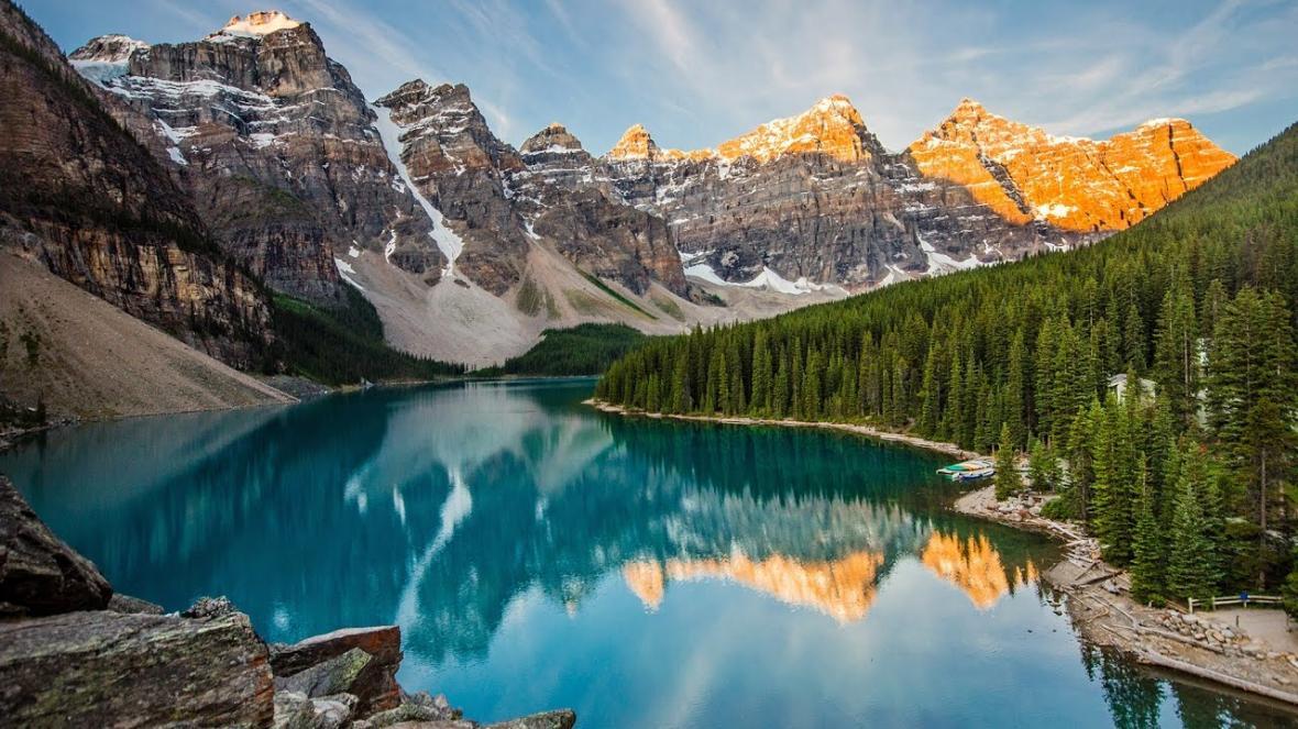 دریاچه مورین (آلبرتا کانادا)