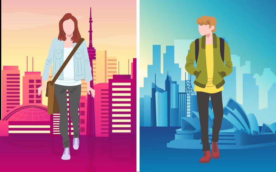 کانادا یا استرالیا؟ تورنتو یا سیدنی؟ کدام برای مهاجرت و زندگی گزینه بهتری است؟