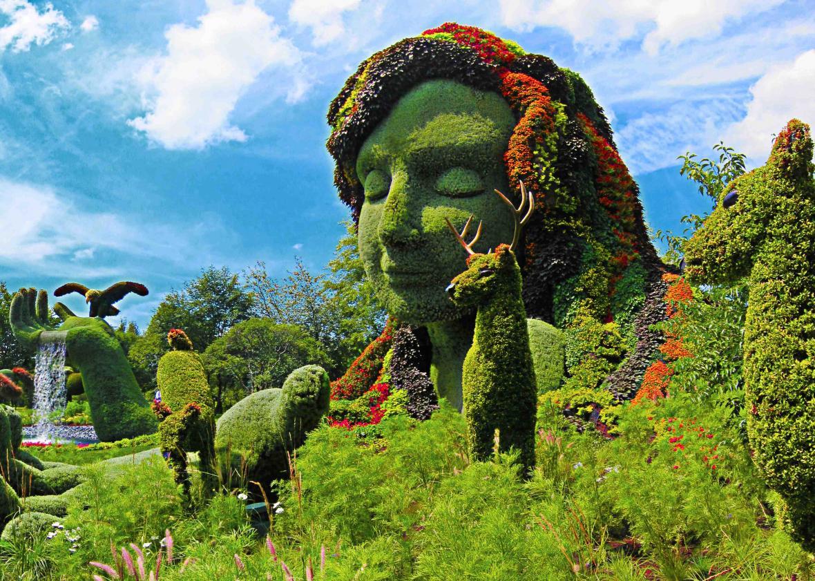 باغ گیاه شناسی مونترال (کانادا)