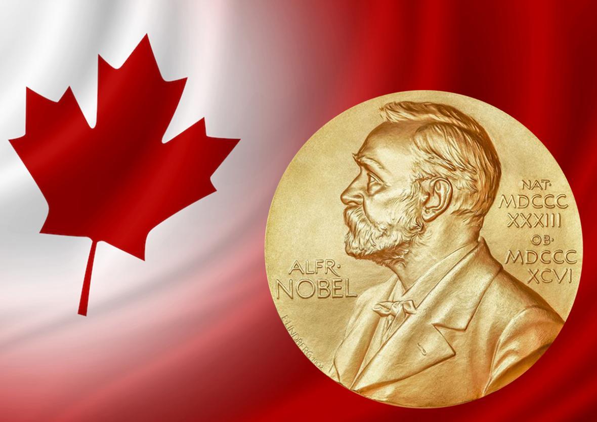 کانادایی هایی که جایزه نوبل دریافت کردند