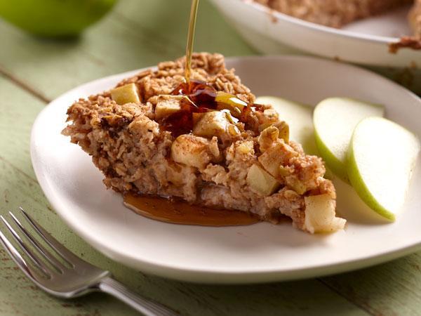 دستور پخت غذای کانادایی: اوتمیل پای سیب