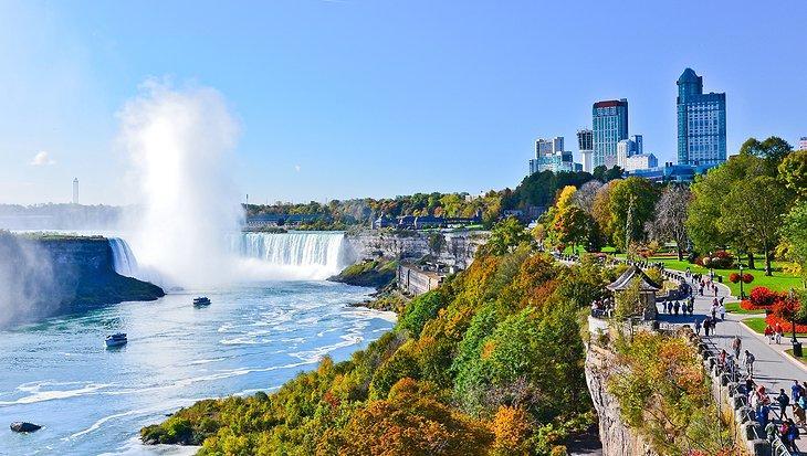 بهترین اقامتگاه ها و هتل ها در آبشار نیاگارا، کانادا