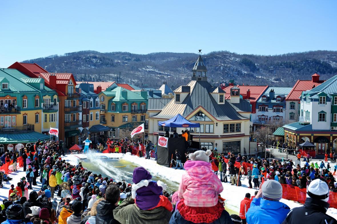 دهکده Mont Tremblant کبک کانادا، مکانی عالی برای استراحت در زمستان امسال