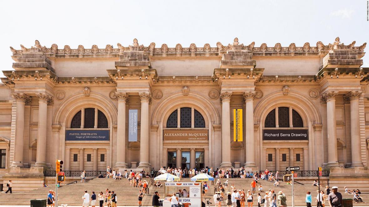 موزه هنر متروپولیتن نیویورک، آمریکا (Metropolitan)