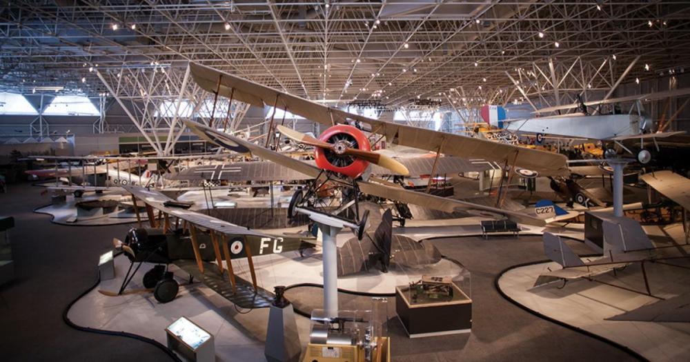 موزه هوانوردی و فضایی کانادا (Canada Aviation and Space Museum) اتاوا