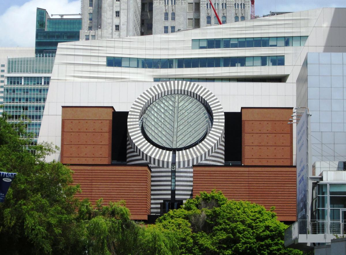 موزه هنرهای مدرن سانفرانسیسکو آمریکا (SFMOMA)