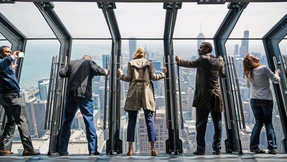 رصدخانه 360 درجه ای شیکاگو آمریکا (360 chicago observation deck)