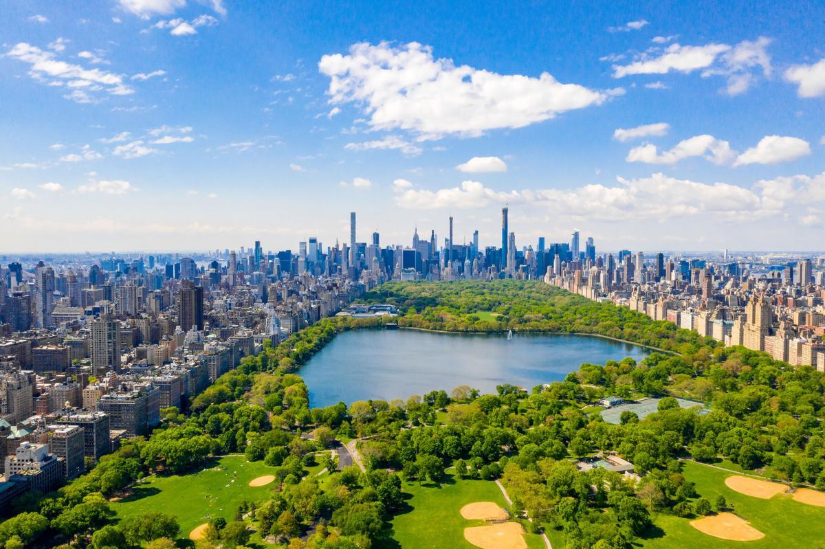 در Central Park نیویورک وقت بگذرانیم