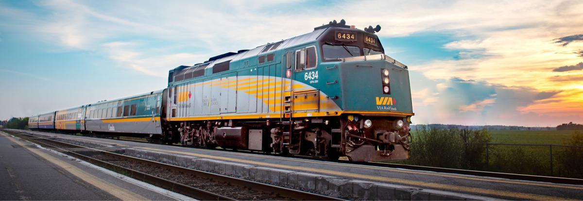 گشت و گذار در تاریخ VIA Rail کانادا