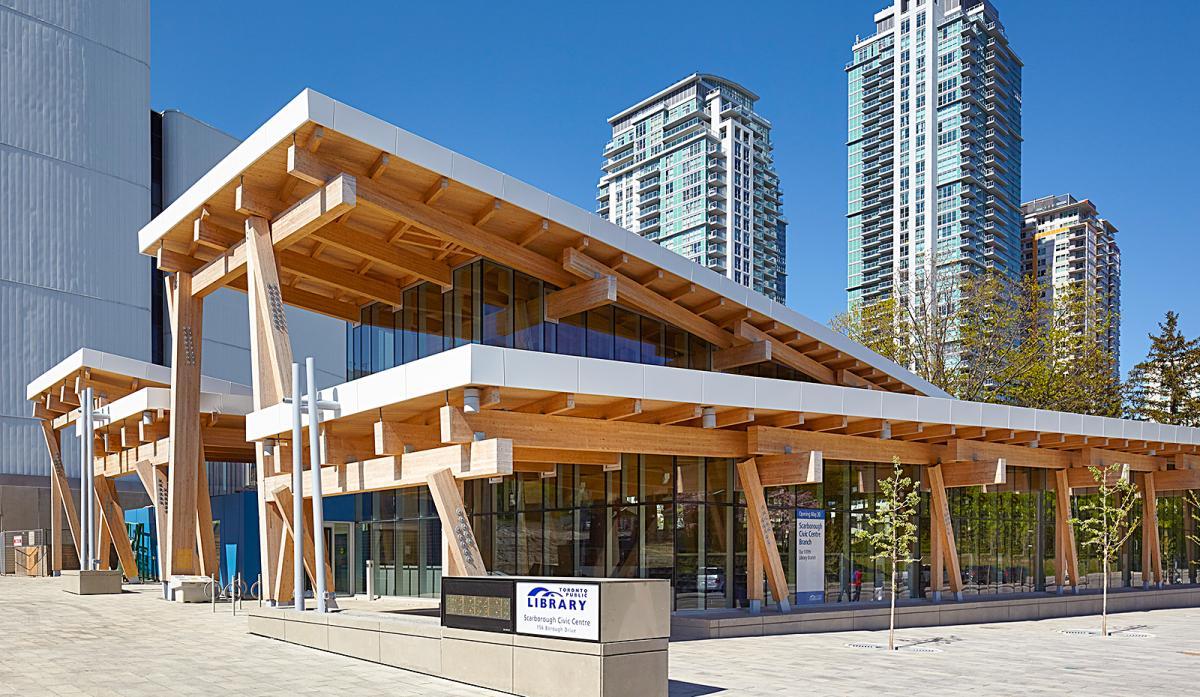 بهترین کتابخانه های عمومی تورنتو