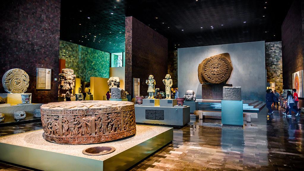 موزه ملی مردم شناسی مکزیک (Museo Nacional de Antropologia)