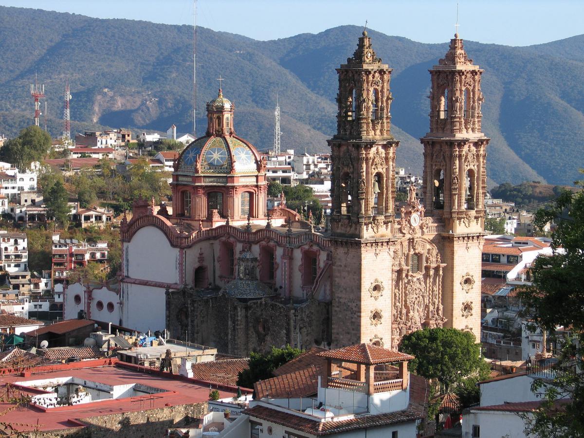 کلیسای Santa Prisca در Taxco مکزیک