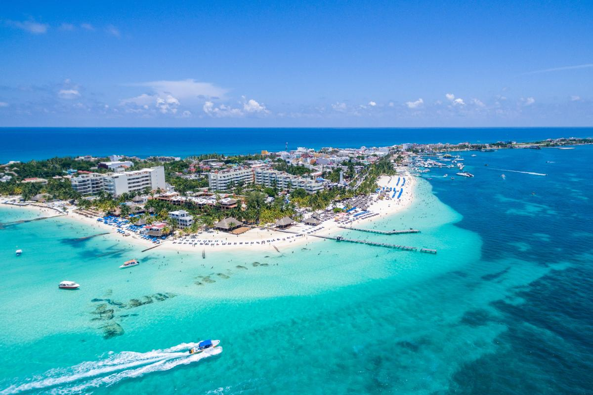 جزیره Isla Mujeres کانکون مکزیک