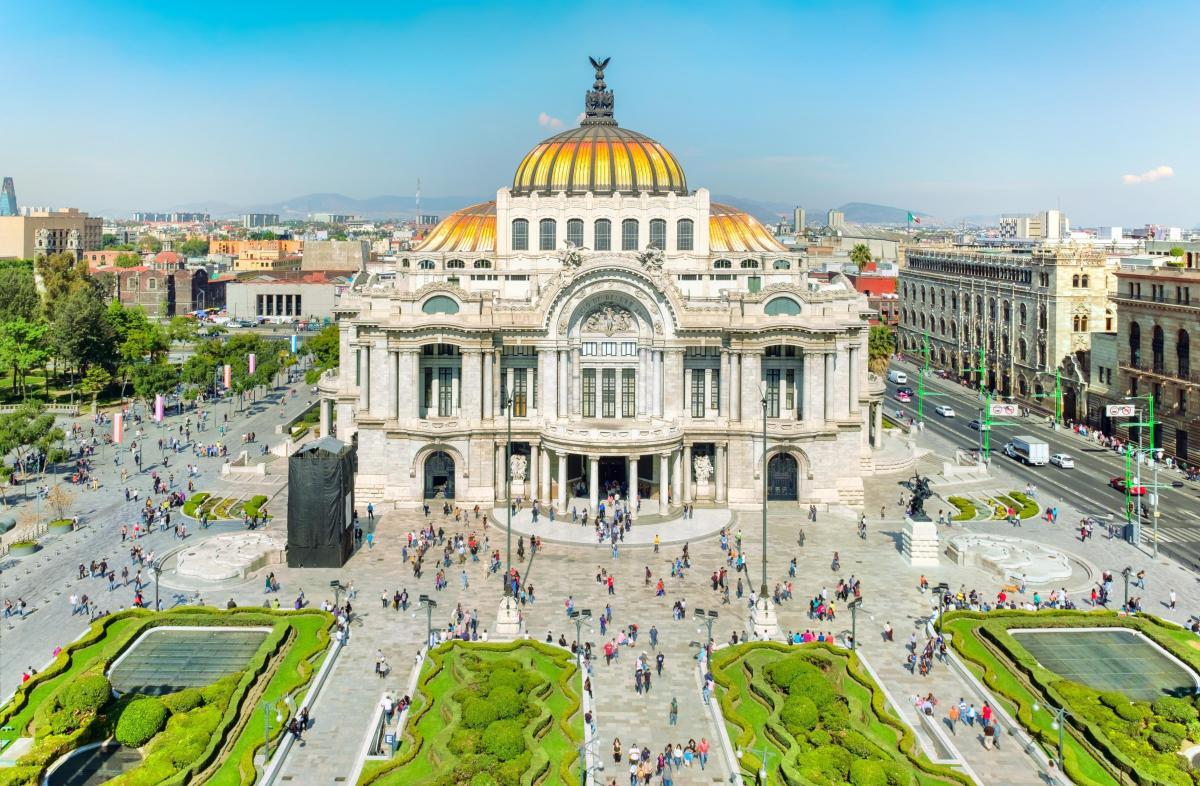 موزه هنری Palacio de Bellas مکزیک