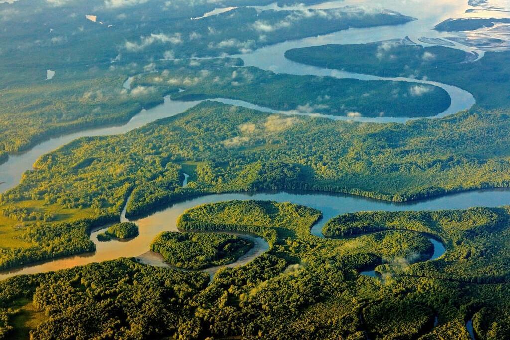 پارک ملی Corcovado در شبه جزیره Osa کاستاریکا