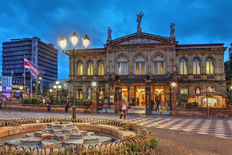 تئاتر ملی در سن خوزه (San Jose) کاستاریکا