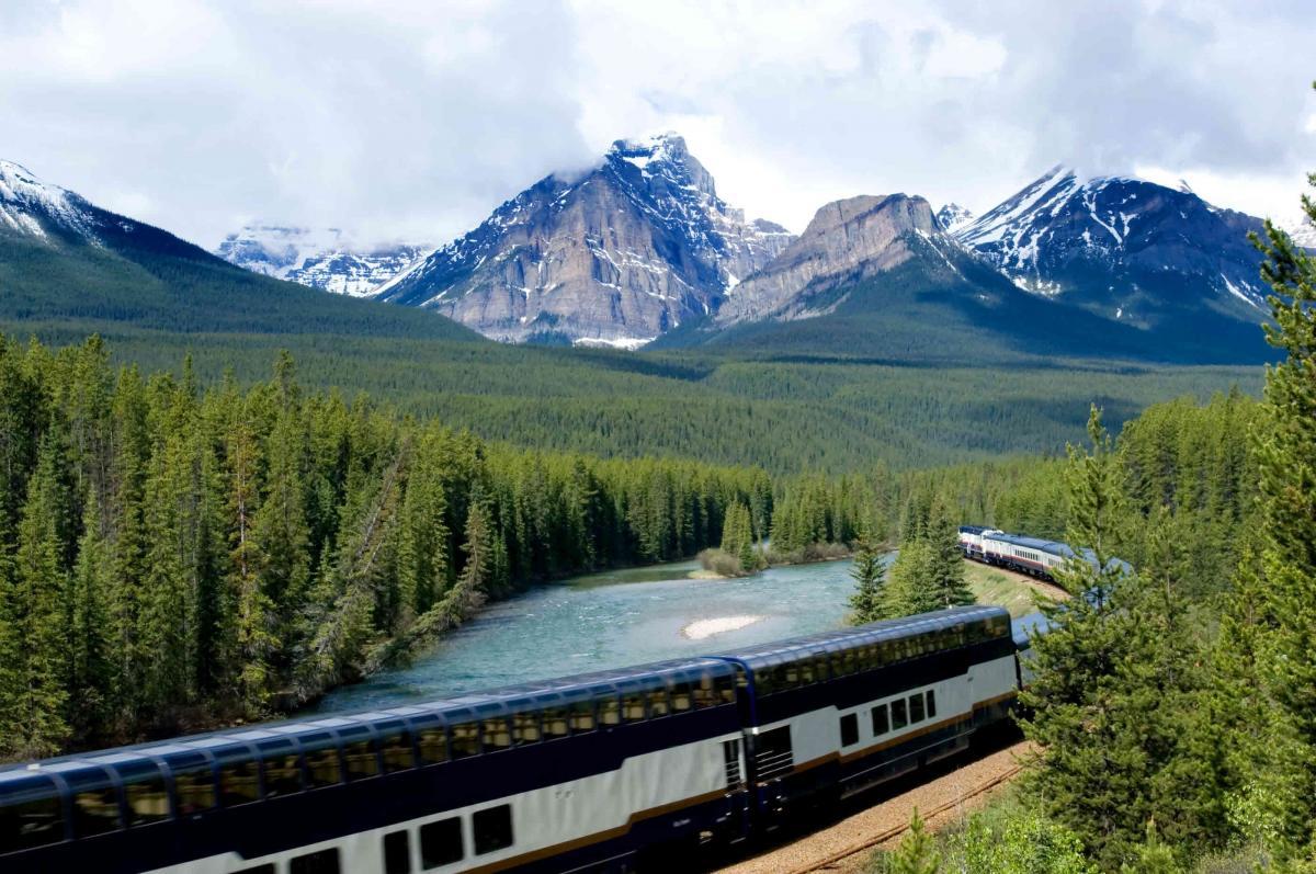بزرگترین مسیرهای ریلی (قطار) کانادا