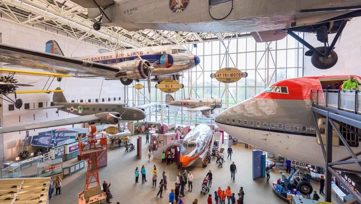 موزه ملی هوا و فضا اسمیت سونیان، واشنگتن آمریکا