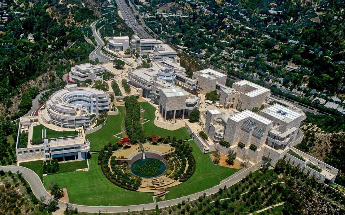 موزه گتی (J. Paul Getty) لس آنجلس آمریکا