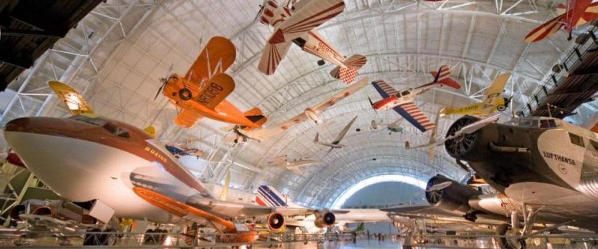 مرکز ملی هوا و فضا استیون اف اودوار-هازی (Steven F. Udvar-Hazy)