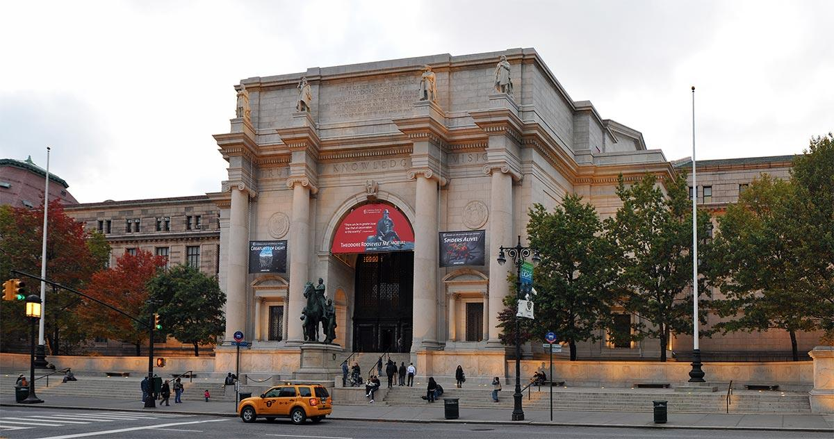موزه ی تاریخ طبیعی آمریکا (AMNH)، نیویورک