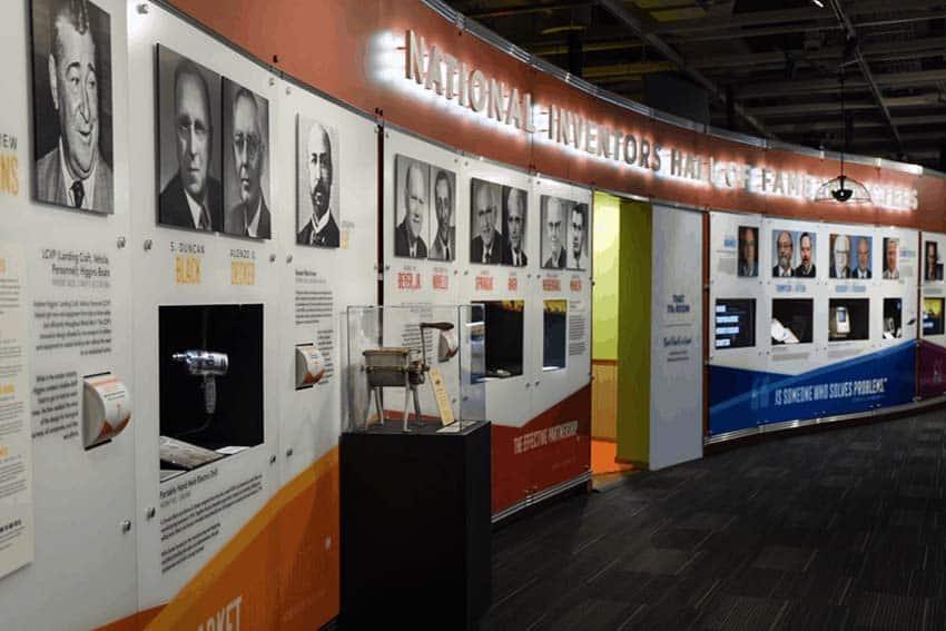 تالار مخترعین ملی موزه مشاهیر، الکساندریا، آمریکا