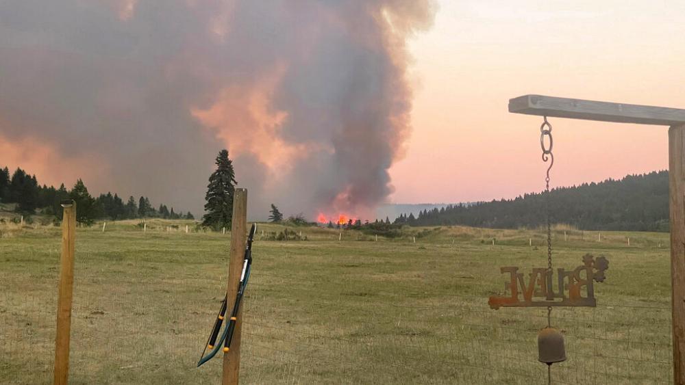 موج گرما و آتش سوزی در چند استان کانادا