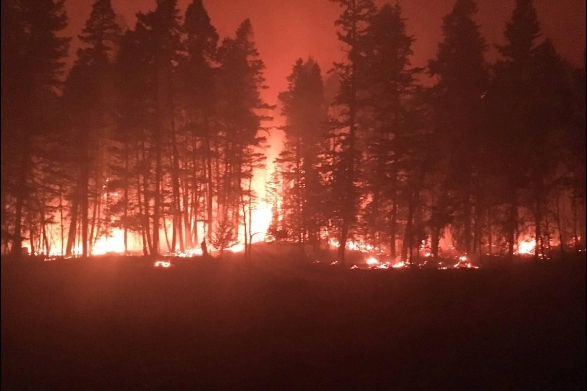آتش نشان های مکزیکی به کمک کانادایی ها آمدند