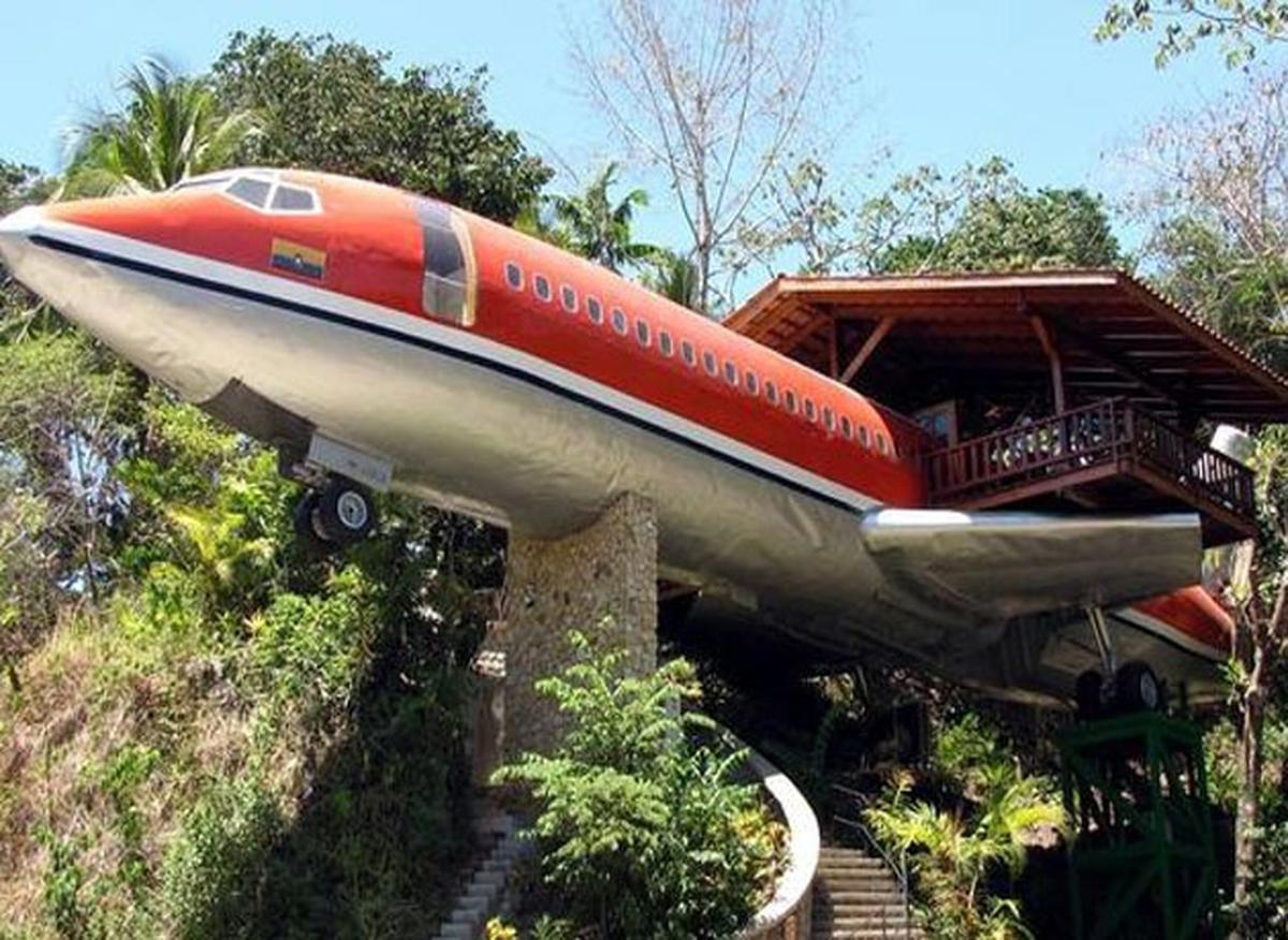 تبدیل لاشه هواپیما به هتل در کاستاریکا