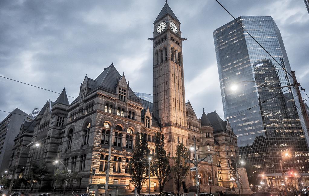 ساختمان شهرداری سابق تورنتو (Old City Hall)