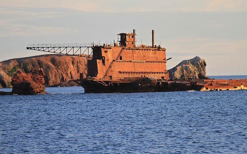جزیره مگدالن (Magdalen) کانادا، مامن کشتی های شکسته