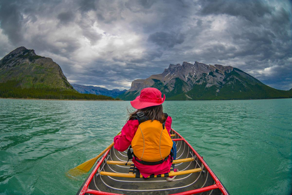 راز دریاچه مینوانکا (minnewanka) کانادا