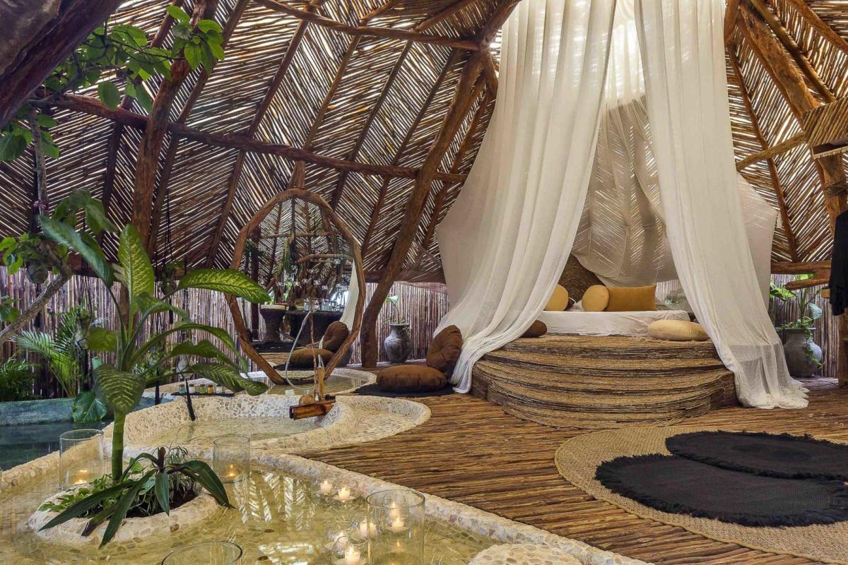 هتل آزولیک (Azulik Resort) در شهر باستانی تولوم مکزیک